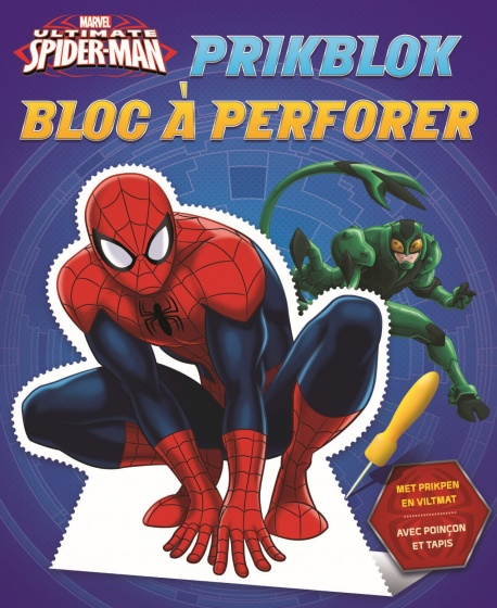 Marvel Spider Man prikblok 22 x 18 cm 20 delig