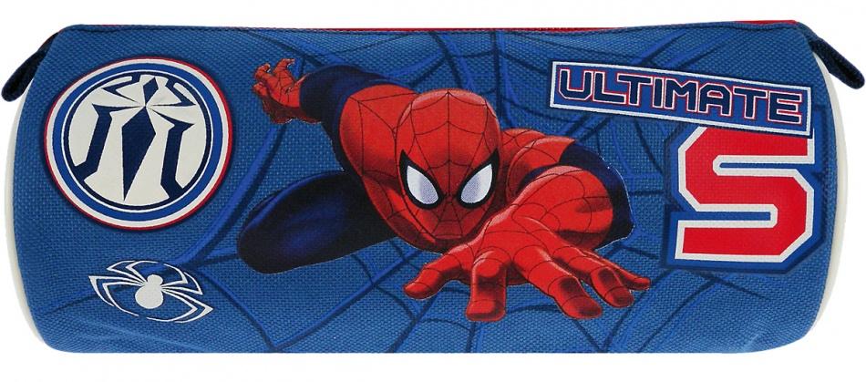 Marvel Spider Man Ultimate Etui blauw 8 x 20 x 8 cm