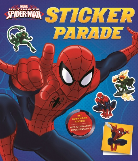 Marvel stickerboek Spider Man stickerparade