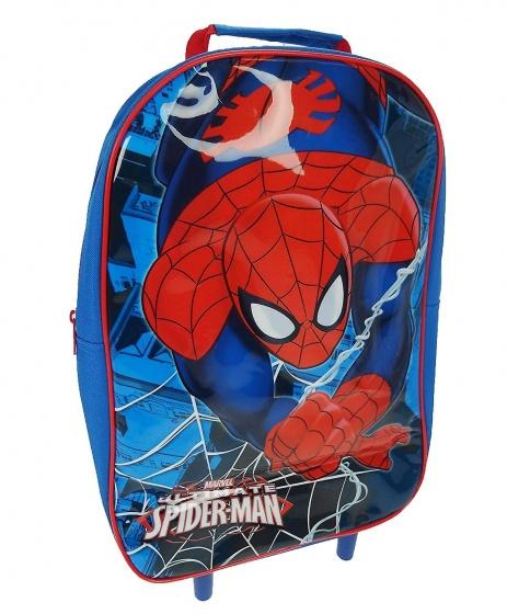 Marvel trolley Spider Man 11,5 liter blauw