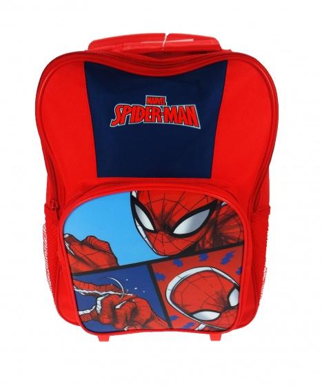 4301fd3c120 Marvel spider man trolley stoere trolley in de vorm van een rugzak. neem al  jouw
