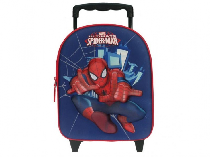 Marvel Trolley Spiderman 3D Blauw 12 x 25 x 31 cm