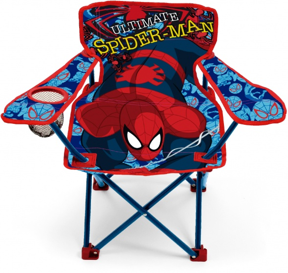 Marvel vouwstoel The Ultimate Spider Man 80 x 50 x 30 cm rd/bl kopen