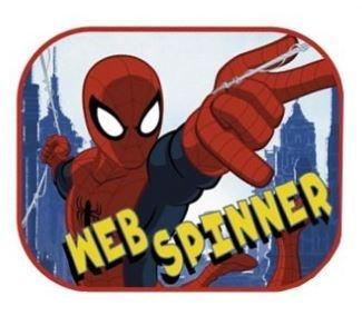 Marvel zonnescherm Spider Man 2 stuks 45 x 36 cm + kleurplaat kopen