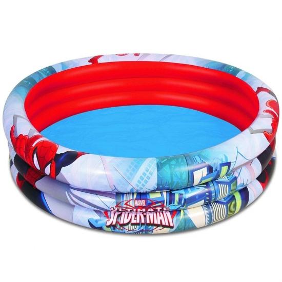 Marvel Zwembad Spiderman Rond Blauw/Rood 152 x 30 cm