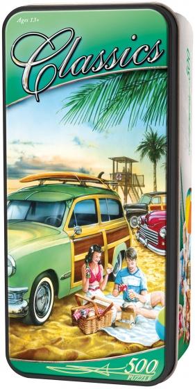 MasterPieces legpuzzel in blik Beach Wagon Party 500 stukjes