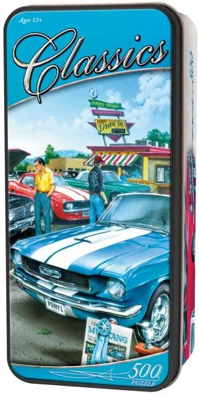 MasterPieces legpuzzel in blik Classic Cars 500 stukjes