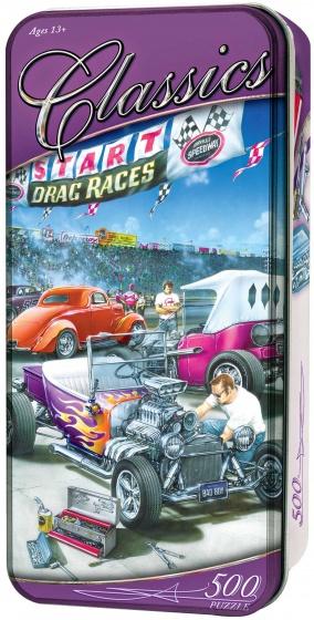 MasterPieces legpuzzel in blik Drag Races 500 stukjes