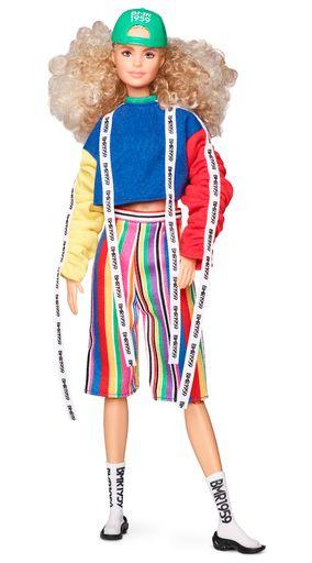 Mattel Barbie pop 'Streetwear Signature' blonde krullen beweegbaar
