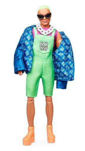 Mattel Barbie pop 'Streetwear Signature' Ken neon haar beweegbaar