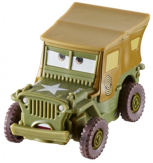 Mattel Cars Wheel Action Drivers: Sarge 7 cm