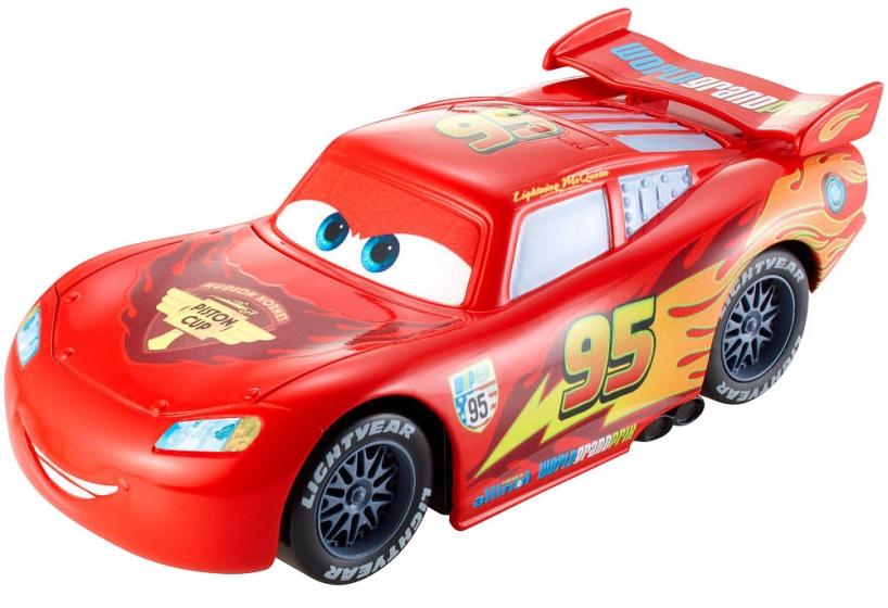 Mattel Cars wheelie actievoertuig Lightning McQueen 13 cm