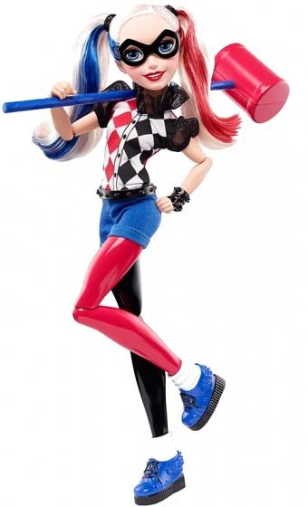 Mattel DC Super Hero Girls speelfiguur Harley Quinn 30 cm