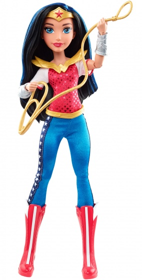 Mattel DC Super Hero Girls Wonder Woman speelfiguur 30 cm