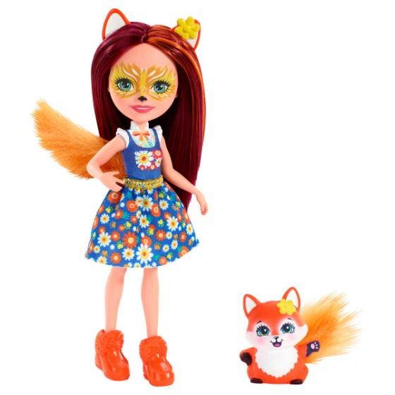 Mattel Enchantimals tienerpop Felicity Fox & Flick 15 cm