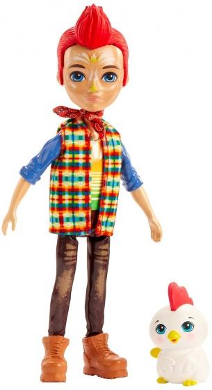 Mattel Enchantimals tienerpop Redward Rooster & Cluck 15 cm