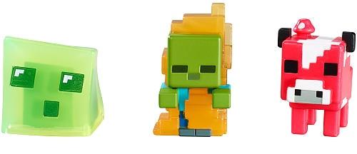 Mattel figuren Minecraft 3 delig