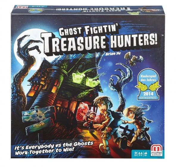 Mattel Games Schatzoekers in het spookhuis bordspel