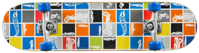 Mattel Skateboard Hot Wheels Patchwork Multi