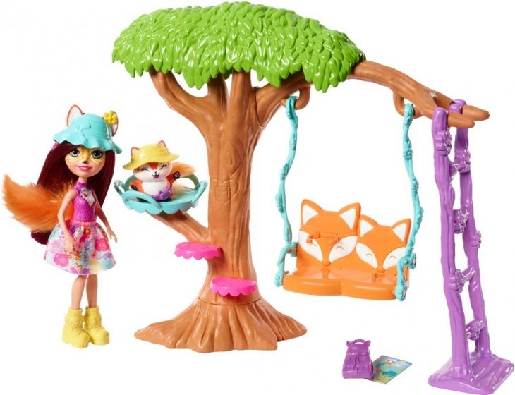 Mattel Speelset boomhut oranje