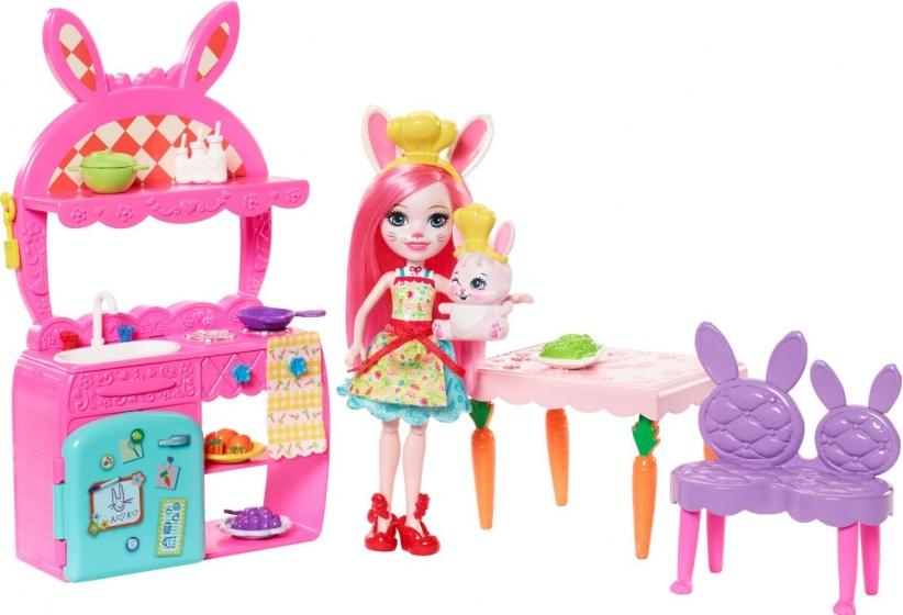 Mattel Speelset keuken roze