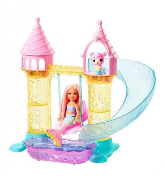 Mattel speelset met zeemeermin Barbie Dreamtopia 12 delig