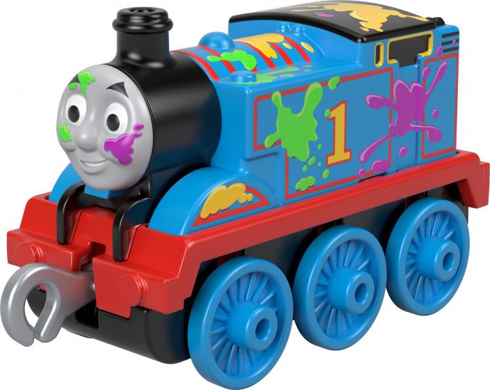 Mattel Thomas & Friends Thomas de Trein schilderen blauw 8 cm kopen