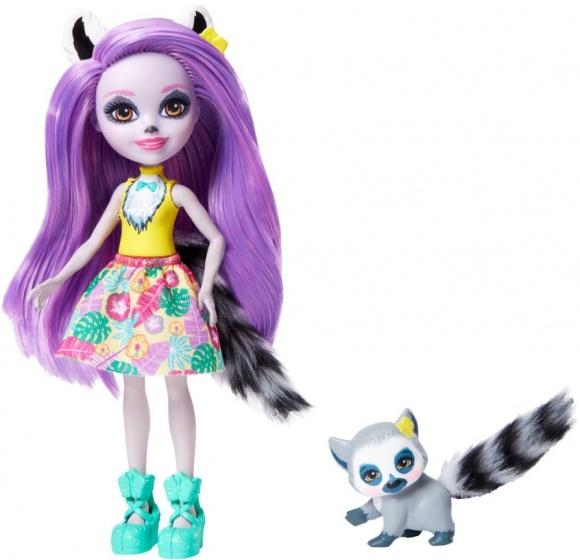 Mattel tienerpop Larissa Lemur & Ringlet 15 cm