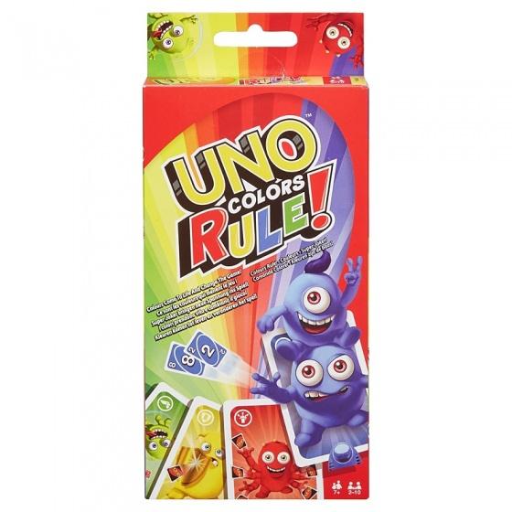 Mattel UNO kleuren kaartspel
