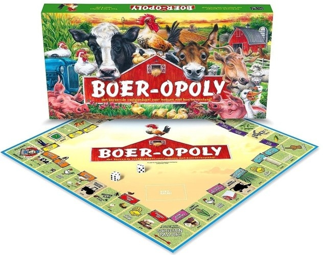 Late For The Sky Boer Opoly Monopoly