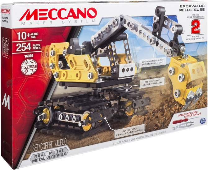 Meccano Graafmachines 254 delig