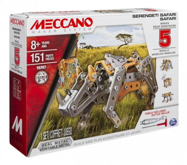 Meccano Multi Safari 151 delig