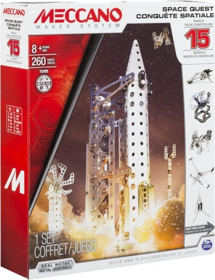 Meccano Multi Space 15 in 1 bouwpakket 260 delig
