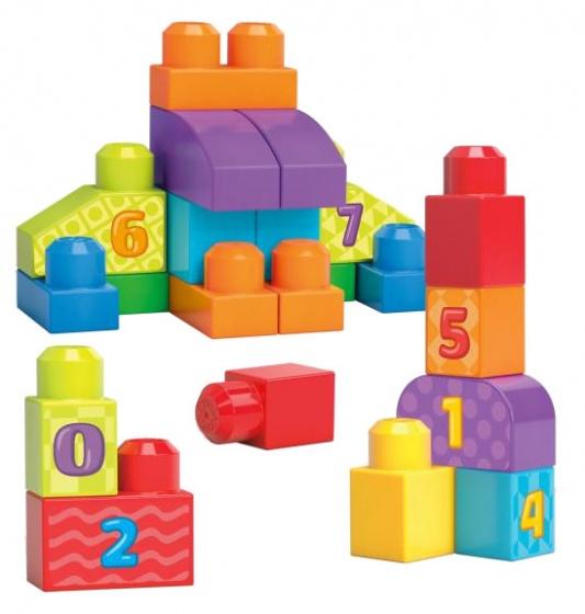 Mega Bloks blokkenspel build and learn bag junior 20 delig