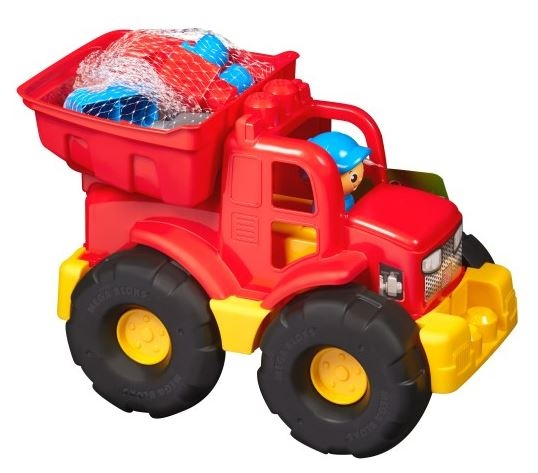 Mega Bloks Kiepwagen FB 2 in 1 rood