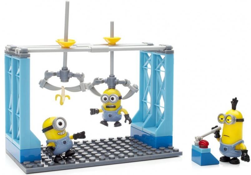 Mega Bloks Minions Factory Fiasco junior 76 delig