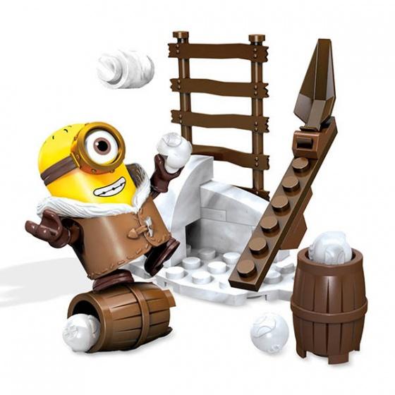 Mega Bloks Minions funpack sneeuw bouwpakket 26 delig