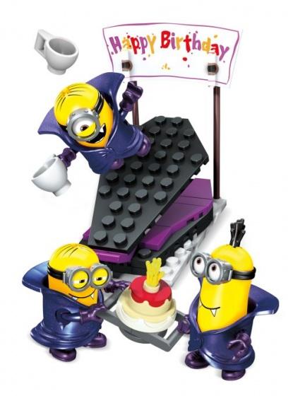 Mega Bloks Minions Vampire Surprise bouwpakket 69 delig