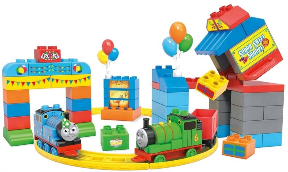 Mega Bloks Thomas de Trein Happy Birthday junior 70 delig