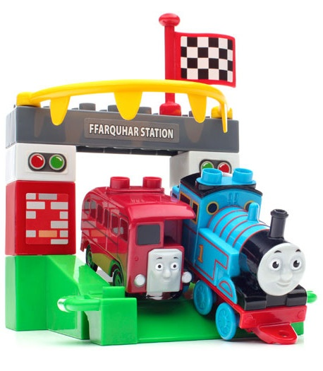 Mega Bloks Thomas de Trein The Friendship Express Bertie 15 delig