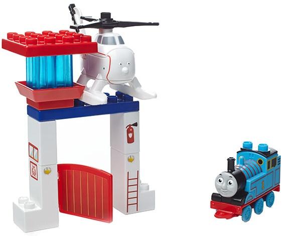Mega Bloks Thomas de Trein The Friendship Express Harold 17 delig