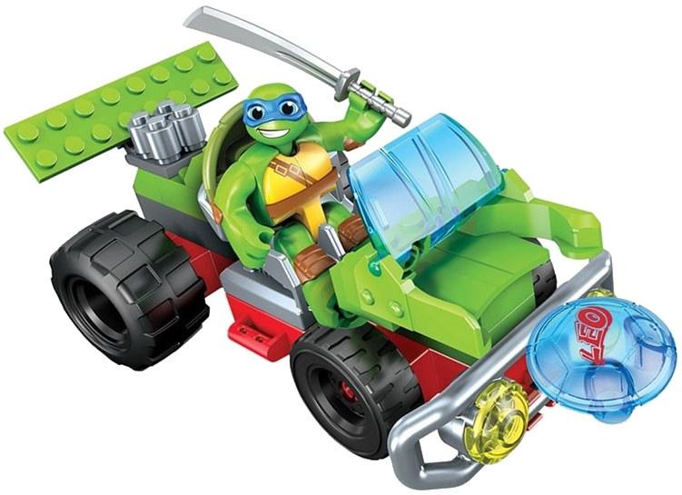 Mega Bloks Turtles Buggy Leo jongens 32 delig