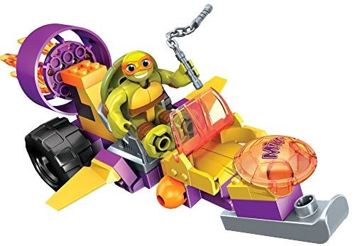 Mega Bloks Turtles Jet Cruiser Mikey jongens 34 delig