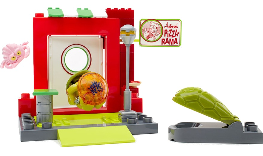 Mega Bloks Turtles Pizzeria Schuilplaats jongens 54 delig