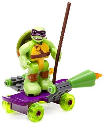 Mega Bloks Turtles skateboard junior paars