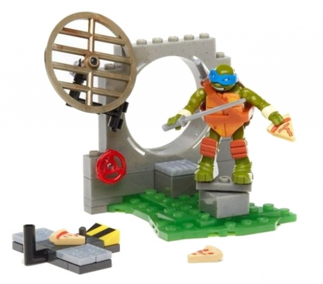 Mega Bloks Turtles Training set Leo jongens 51 delig