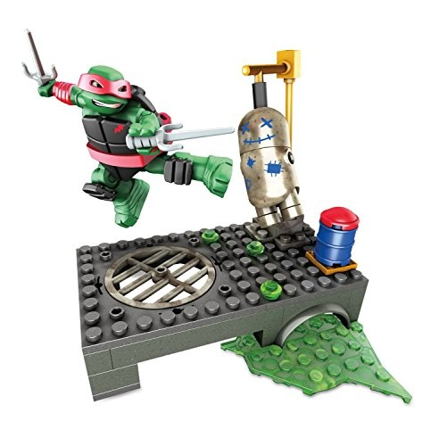 Mega Bloks Turtles Training set Raph jongens 51 delig