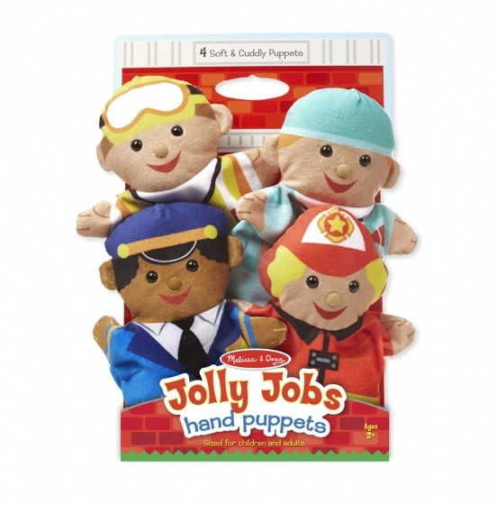 hand puppets jolly helpers 4 dolls