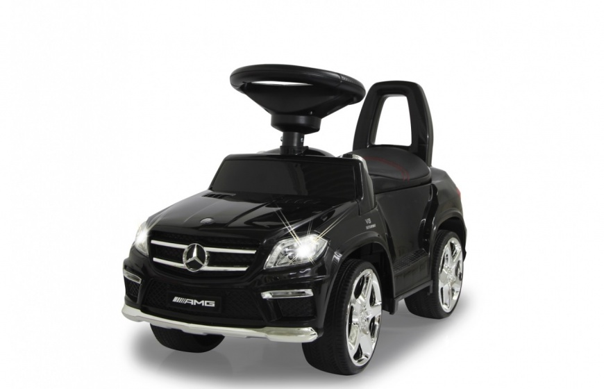 JAMARA loopauto Mercedes GL 63 AMG 65,5 x 28 x 39 cm zwart