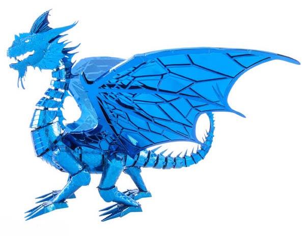 Metal Earth bouwpakket Blue Dragon